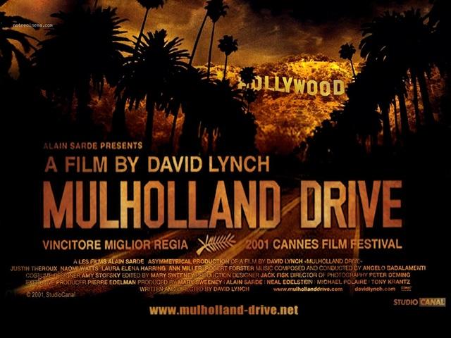 affiche film Mulholland Drive