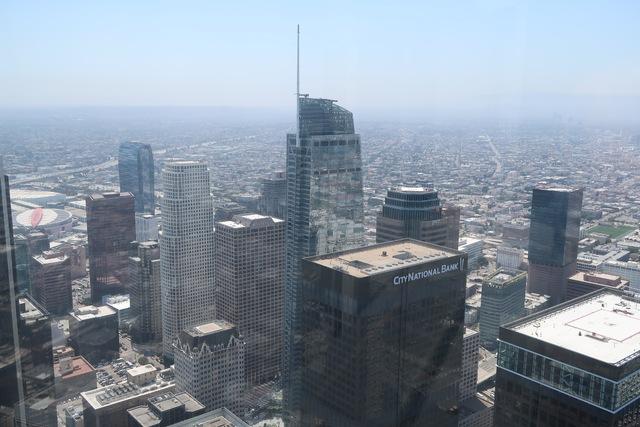 photo de la vue depuis le Oue Skyspace