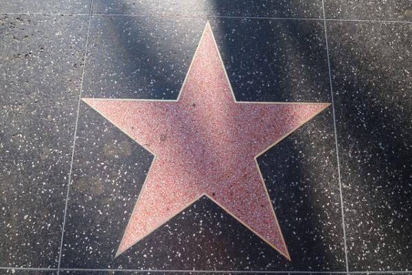 étoile vide du walk of fame