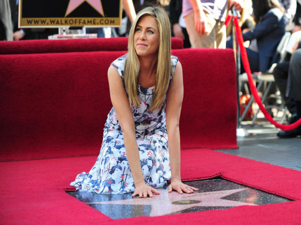 intronisation Jennifer Aniston walk of fame