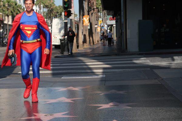 Superman sur le walk of fame