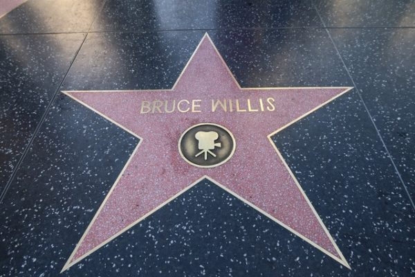 étoile de Bruce Willis sur le walk of fame
