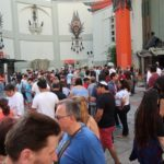 foule à Hollywood Boulevard