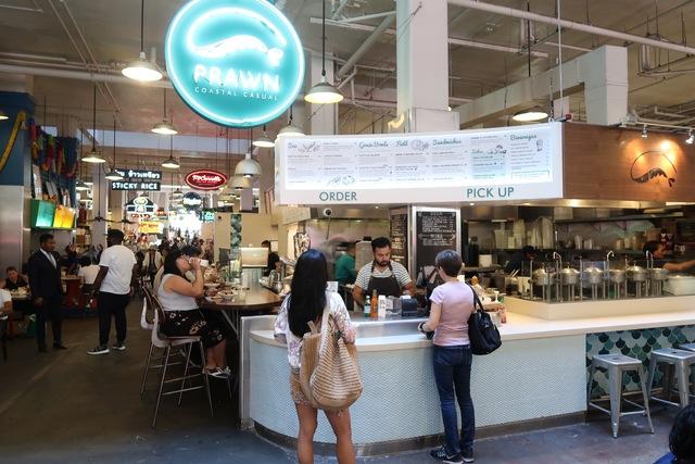 Photo de l'intérieur du Grand Central Market