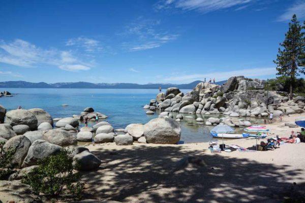 lake tahoe sand harbor beach