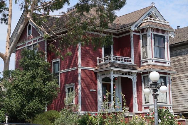 Carroll Avenue Ses Maisons Victoriennes Et Notamment Celles De